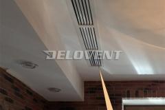 Вентиляционные приточные решётки в офисных помещениях