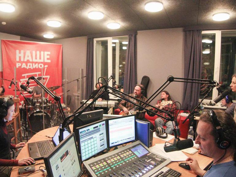 Студия звукозаписи радиохолдинга «Мультимедиа Холдинг»