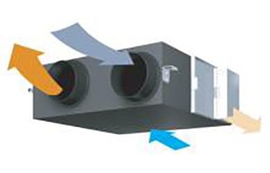 Вентиляция и кондиционирование квартиры на основе приточно-вытяжной установки Daikin VAM